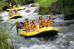 white river rafting bali